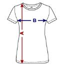 Damen T-Shirt Masse
